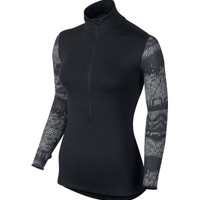 Nike Women's Pro Hyperwarm Nordic Long Sleeve Half Zip Compression Shirt - Dick's Sporting Goods