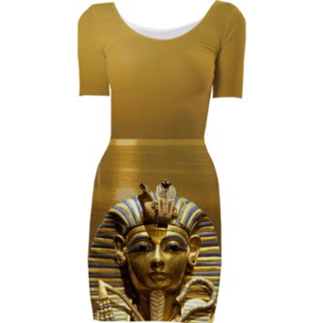 Egypt King Tut Bodycon Dress created by ErikaKaisersot | Print All Over Me
