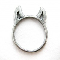 Devil Ring in Silver - Sizes 5 to 7