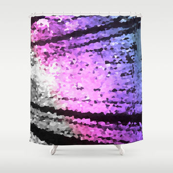 Cool Tone Lovelies Shower Curtain by 2sweet4words Designs