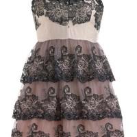 Embroidered Princess Dress | Minuet Dresses | RicketyRack.com