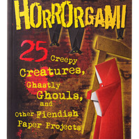 Horrorgami Paper Projects Book