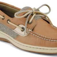 Sperry Top-Sider Bluefish 2-Eye Boat Shoe LinenOat, Size 5M  Women's Shoes