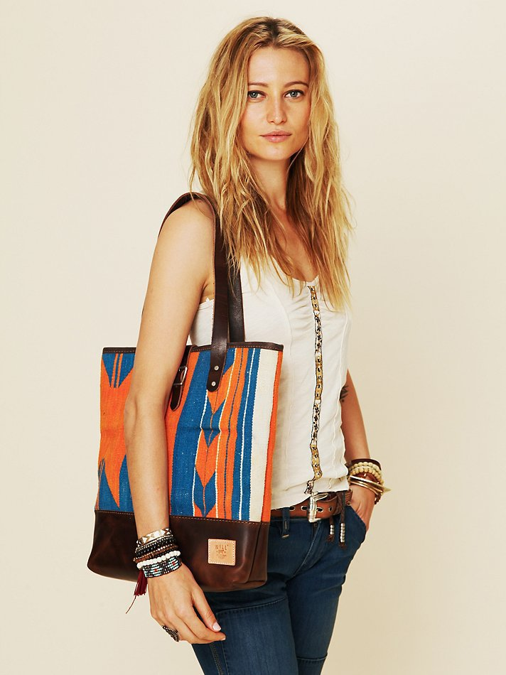 Free People Dhurrie Tapestry Tote