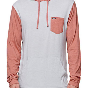 RVCA Set Up Hooded Long Sleeve Shirt at PacSun.com