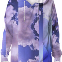Cloudy hoodie created by duckyb | Print All Over Me