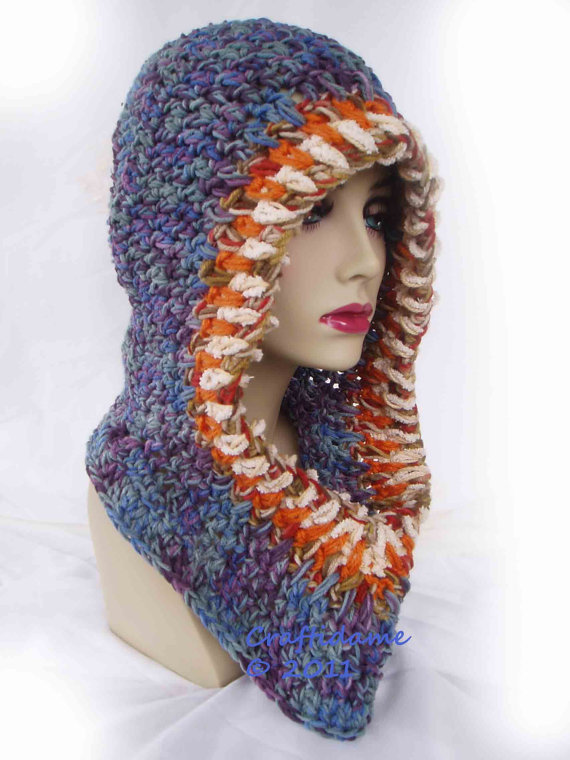 Crochet Hoodie Fabulous Funky