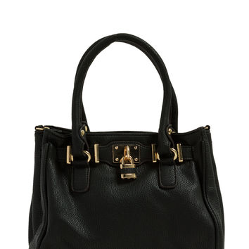 Just A Few Mini Faux Leather Handbag