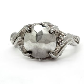 """Ice Princess"" Ring by Blue Bayer Design (Silver)"