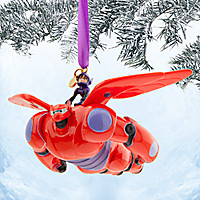 Hiro and Baymax Mech Sketchbook Ornament - Big Hero 6