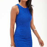 Cutout Crochet Bodycon Dress