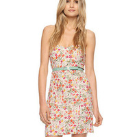 Wildflower Strapless Linen Dress | LOVE21 - 2011408420