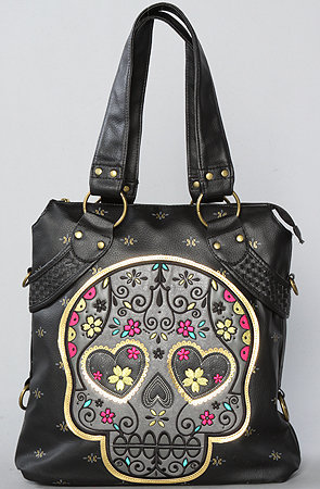 The Eye Heart Skull Bag