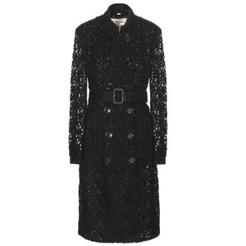 burberry london - pennyford lace trench coat