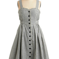 Ordinary Happy Moments Dress in Picnic | Mod Retro Vintage Printed Dresses | ModCloth.com