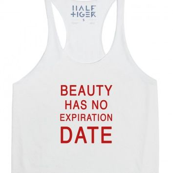 Beauty Has No Expiration Date (Red)