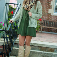What It's Like Cardigan, Light Olive