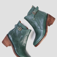Maiden Booties In Evergreen By Latigo