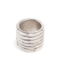 PARTS OF FOUR | Silver Plane Engraved Ring | Browns fashion & designer clothes & clothing