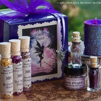FAERIE MAGICK Olde World Focused Ritual Spell Kit for Calling the Fae & Nature Spirits, Faery Sight, Wishes, Play, Fun, Joy, Happiness