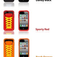 Shoelace Style iPhone 4 Case