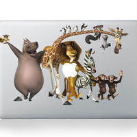 Animal Assembly -- Mac Decal Mac Sticker Macbook Decals Macbook Stickers  Apple Vinyl Decal for Macbook Pro / Macbook Air / iPad