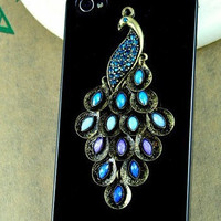 peacock Iphone 4 Case - peacock Iphone 4s Case, Iphone Case, Iphone 4 Cover