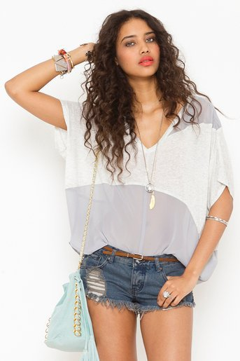 Haze Chiffon Tee