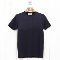YMC : Basic Tee (Navy) from Oi Polloi