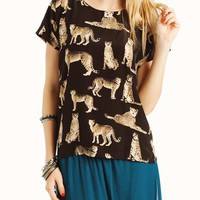 cheetah-print-blouse BLACKTAUPE - GoJane.com