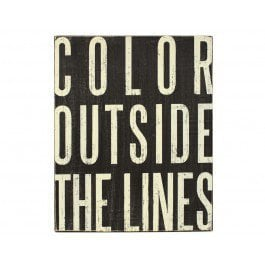 Color Outside Plaque
