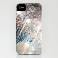 Explosions In The Sky iPhone Case by Violet D'Art | Society6