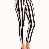 striped-pants BLACKWHITE - GoJane.com
