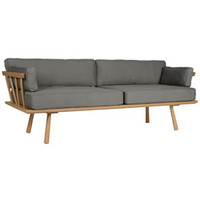 Whitstable Large Cradle Sofa by Mathers & Hirst