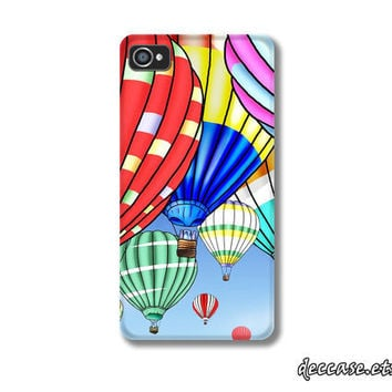 Case iPhone, iPhone 4s Case, IPHONE 4 CASE - Hot Air BALLOON,Ballon Festival