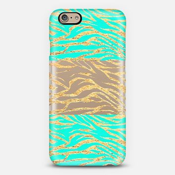 Gold Mix OceanDrive - Phone Case iPhone 6 case by Nika Martinez | Casetify