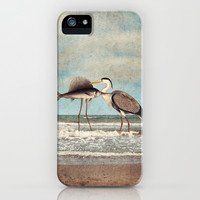 The Fish That Sold Its Soul for Love iPhone & iPod Case by Paula Belle Flores