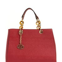 Thing Of Beauty Faux Leather Handbag