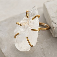 Quartz Arrowhead Ring by Five and Two Clear