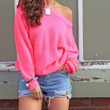 Catch Up Pink Sweater – Sirenlondon