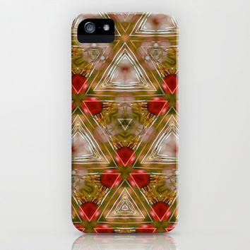 Twas The Night Before Christmas  iPhone & iPod Case by Louisa Catharine Design