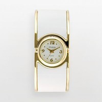 Studio Time Gold Tone Bangle Watch