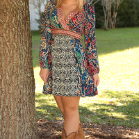 When My World Is Going Crazy Dress: Multi