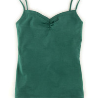 Gathered Cami (Grey Marl)
