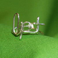 Initials Ring