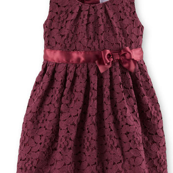 Carter's Baby Girls' Sleeveless Lace Dress