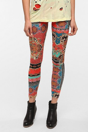 BDG Brocade-Chain High-Rise Legging