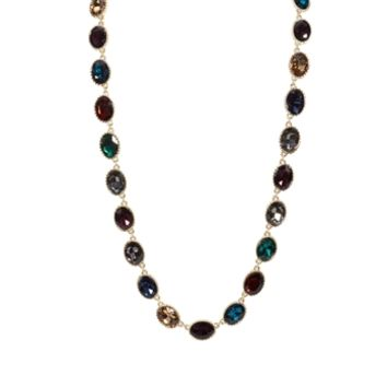 Cara Linked Jewel Necklace at Von Maur