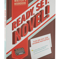 Ready, Set, Novel! Writer&#x27;s Workbook | Mod Retro Vintage Books | ModCloth.com