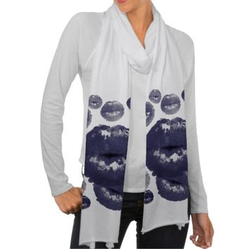 Sassy Lips Women's American Apparel Scarf